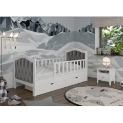 Кровать деревянная Тоскана Мини 90х200 Artwood (с бортиками и шухлядами)