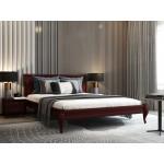 Кровать деревянная Лозанна  160х200 (орех)