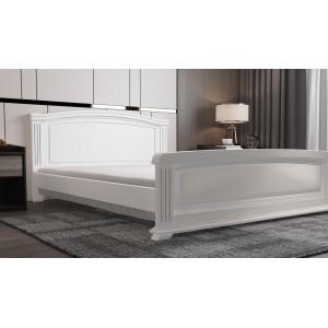 Кровать деревянная Афина 160х200 (белая)