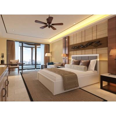 Кровать деревянная Верона 180х200 с подьемным механизмом ArtWood (Белая)