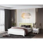 Кровать деревянная Ницца 140х200 с мягким изголовьем ArtWood