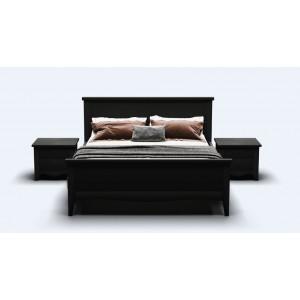 Кровать деревянная Рим 180х200 (венге)