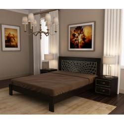 Кровать деревянная Барселона 140х200 ArtWood (Венге)