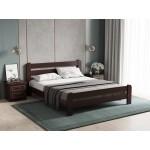 Кровать деревянная Малага 1.6 ArtWood (Орех)