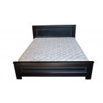 Кровать деревянная Мадрид №1 ArtWood 140х200 (венге)