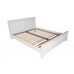 Кровать деревянная Валенсия 140х200  ArtWood (белая)