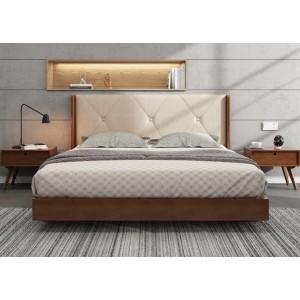 Кровать деревянная Сиена 180x200  ArtWood (Орех)