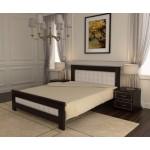 Кровать деревянная Валенсия 140х200  ArtWood (Венге)